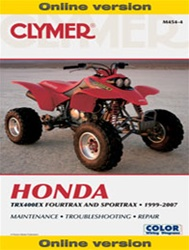 Clymer Honda 400ex Manual
