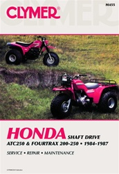 Clymer Honda ATC 250 & Fourtrax 200 - 250 Repair Manual