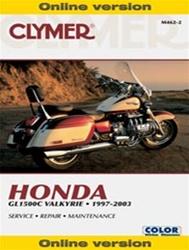 Honda GL1500C Valkyrie Online Manual
