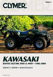 Clymer Kawasaki Bayou KLF300 Repair Manual