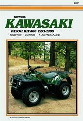 Clymer Kawasaki Bayou KLF400Repair Manual