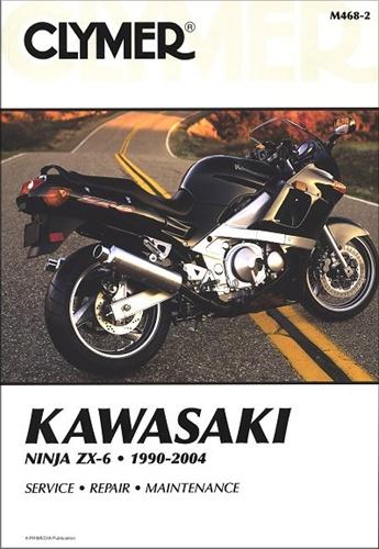Kawasaki Ninja Service Manual (ZX6, ZX600, ZZ-R 600) 1990-2004 on