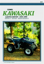 Clymer Kawasaki Lakota KEF300 Repair Manual