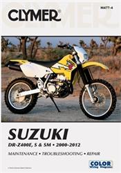 Suzuki DRZ400 Manual (DRZ400E, DRZ400S, DRZ400SM)