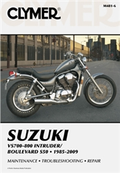 Suzuki Boulevard - Intruder Manual (S50, VS700, VS750, VS800)
