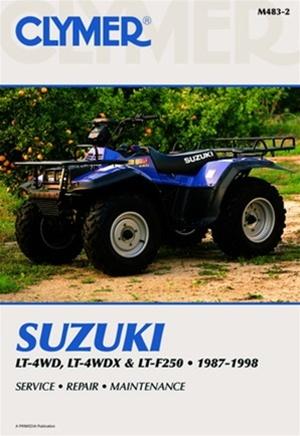 suzuki quadrunner manual king quad repair service shop rh themanualstore com suzuki quadrunner owners manual suzuki quadrunner 250 shop manual