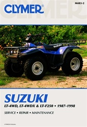 Clymer Suzuki Quadrunner - King Quad Repair Manual
