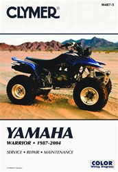 Clymer Yamaha Warrior Repair Manual