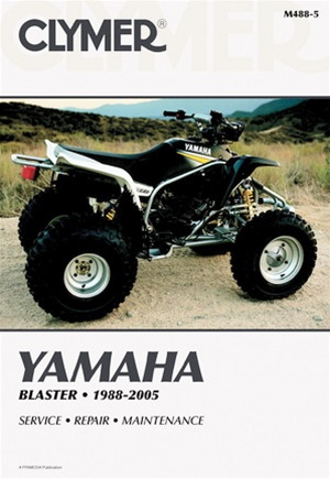 yamaha blaster manual repair service shop rh themanualstore com 2003 Yamaha Blaster 2004 Yamaha Blaster