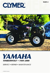 Clymer Yamaha Timberwolf Repair Manual