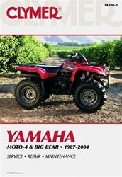 Clymer Yamaha MOTO-4 and Big Bear Repair Manual