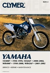 Yamaha  YZ400F, YZ426F, WR400F and WR426F Manual