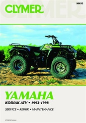 Clymer Yamaha Kodiak Repair Manual