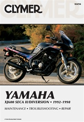 Yamaha XJ600 Seca II/Diversion Manual