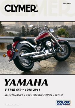 yamaha v star manual 1998 to 2011 650 service owners repair rh themanualstore com 2000 yamaha v star 650 owners manual 2001 yamaha v star 650 owners manual