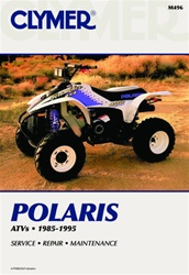 Clymer Polaris ATV 1985 - 1995 Repair Manual incl. Sportsman and Scrambler