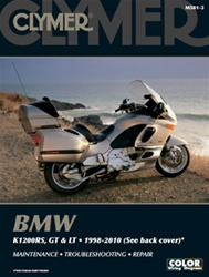 BMW K1200RS, K1200GT, K1200LT Manual