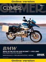 BMW R850, R1100, R1150, R1200C Manual