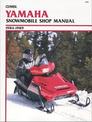 Yamaha Snowmobile Manual 1984-1989