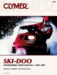 Ski-DooSnowmobile Manual 1985-1989