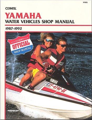 yamaha jet ski manual 1987 1992 waverunner service and repair rh themanualstore com 1996 Yamaha Waverunner 1996 Waverunner III
