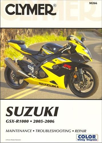 suzuki gsxr 1000 manual 2005 2006 clymer service repair rh themanualstore com 2005 suzuki gsxr 1000 repair manual 2006 Suzuki Gsxr 1000