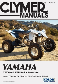yamaha yfz450 manual repair service shop rh themanualstore com 2004 yamaha yfz450 service manual 2006 yamaha yfz 450 repair manual