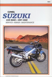 Suzuki GSXR600 Manual