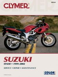 suzuki sv 650 manual 1999 2002 clymer service repair manuals sv650. Black Bedroom Furniture Sets. Home Design Ideas