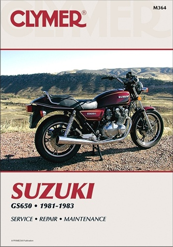 Suzuki Gs 650 Manual 1981 1983 Clymer Service Repair Manuals Gs650