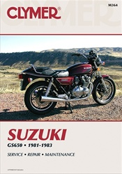 Suzuki GS 650 Manual