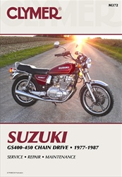 Suzuki GS400, GS425, GS450 Manual