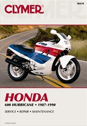 Honda Hurricane CBR 600 Manual