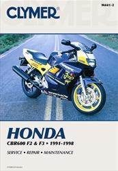 Honda CBR 600 Manual (F2 / F3)