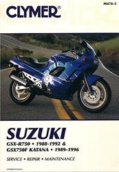 Suzuki GSX - GSXR 750 Manual